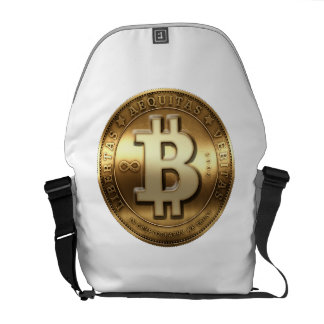 Bitcoin Messenger farrowed Courier Bag