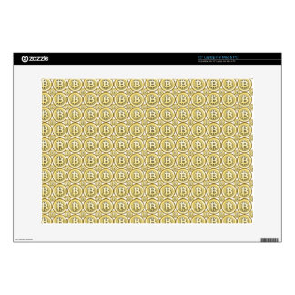 "Bitcoin Millionaire - iPad Sleeve Decals For 15"" Laptops"