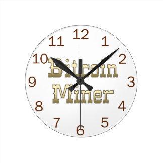 Bitcoin Miner Wall Clocks