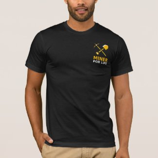 Bitcoin Miner For Life T-Shirt