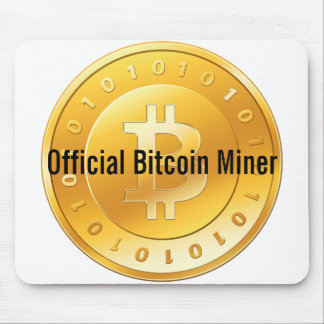 Bitcoin Miner Mouspad Mouse Pad