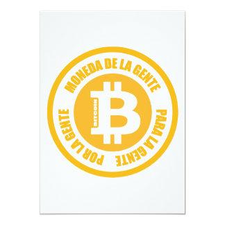 Bitcoin Moneda De La Gente Para Gente Por La Gente Card