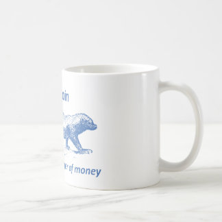 Bitcoin Mug - Bitcoin the Honey Badger of Money