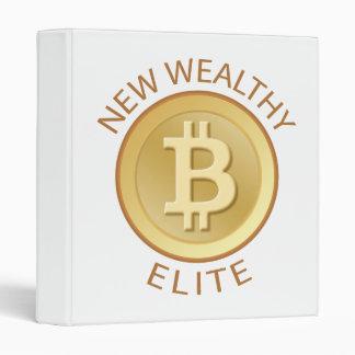Bitcoin - New Wealthy Elite 3 Ring Binder