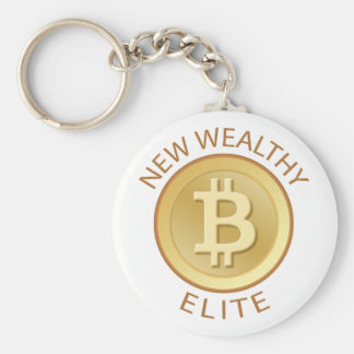 Bitcoin - New Wealthy Elite Keychain