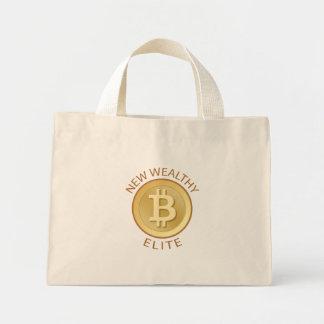 Bitcoin - nueva élite rica bolsa de mano