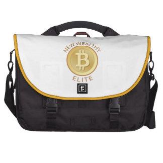 Bitcoin - nueva élite rica bolsas para portátil