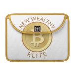 Bitcoin - nueva élite rica fundas macbook pro