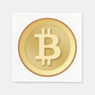 Bitcoin Disposable Napkin