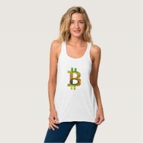 BITCOIN/PATTERN-Women's Tank