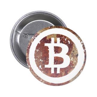Bitcoin Pin Redondo 5 Cm