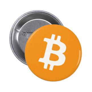 Bitcoin Pin Redondo De 2 Pulgadas