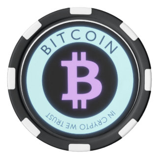 Bitcoin poker chips! poker chip set
