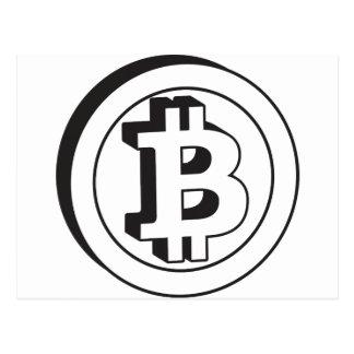 Bitcoin Post Card