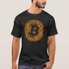 Bitcoin Revolution Block Chain Cyrpto Word Shirt