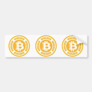 Bitcoin Revolution Catalan Version Bumper Stickers