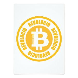 Bitcoin Revolution (Catalan Version) Custom Invitation