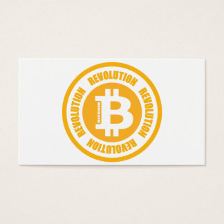 Bitcoin Revolution (English Version) Business Card