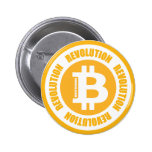 Bitcoin Revolution (English Version) Pinback Buttons