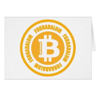 Bitcoin Revolution (Hungarian Version) Greeting Cards