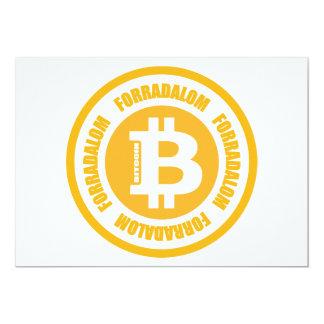 Bitcoin Revolution (Hungarian Version) Custom Invitations