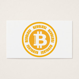 Bitcoin Revolution (Indonesian Version) Business Card