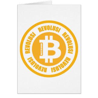 Bitcoin Revolution (Indonesian Version) Greeting Cards