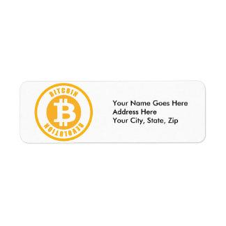 Bitcoin Revolution Return Address Label