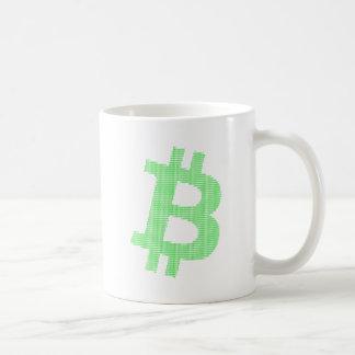 Bitcoin Strength in Number Matrix Coffee Mug