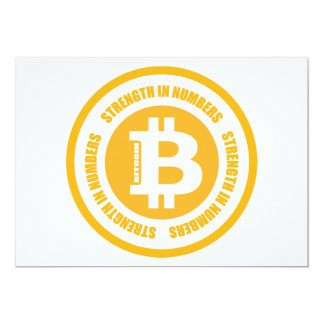 Bitcoin Strength In Numbers Card