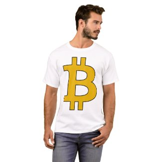 Bitcoin t-shirt - design your own cryptocurrencie