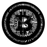 Bitcoin - the internet of money large clock