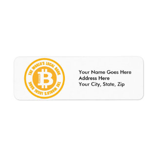 Bitcoin The Worlds Local Bank Label