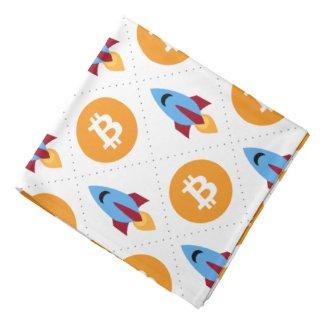 Bitcoin To The Moon Bandana