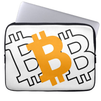 Bitcoin - virtual currency for a digital age computer sleeve