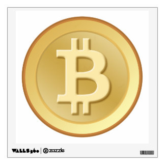 Bitcoin Wall Decal