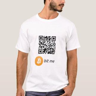 Bitcoin Wallet QR Code T-Shirt