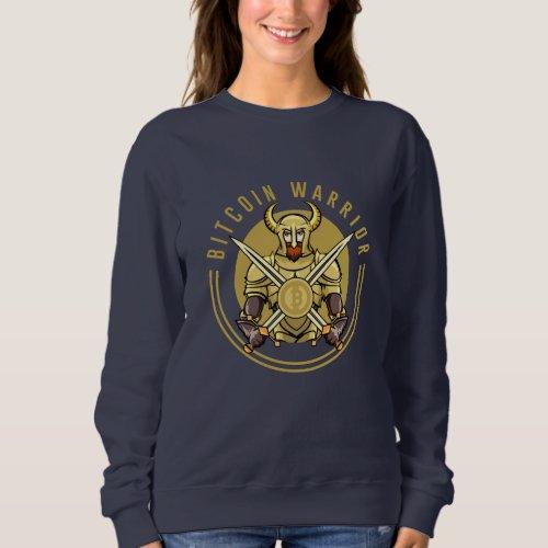 Bitcoin Warrior Sweatshirt