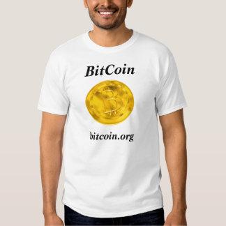 BitCoin - White T-Shirt