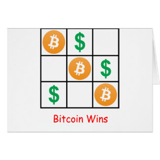 Bitcoin Wins Cards