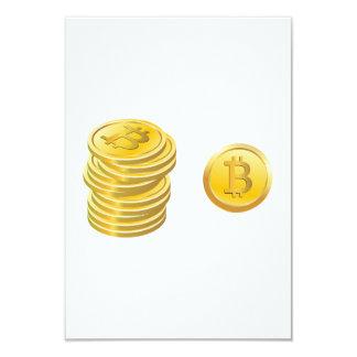 Bitcoins Invitations