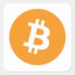 Bitcoins Pegatina
