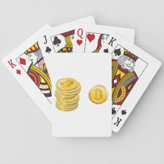 Bitcoins Playing Cards