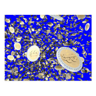 Bitcoins Postcards
