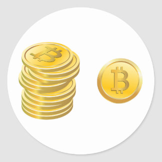 Bitcoins Stickers