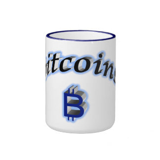 bitcoins taza de dos colores