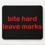 'Bite Hard' Mousepad