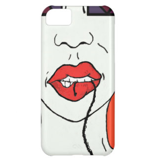 Bite It - Pop Art Style Lips Case For iPhone 5C