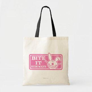 Bite it Sideways Tote Bag