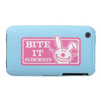 Bite it Sideways iPhone 3 Cover